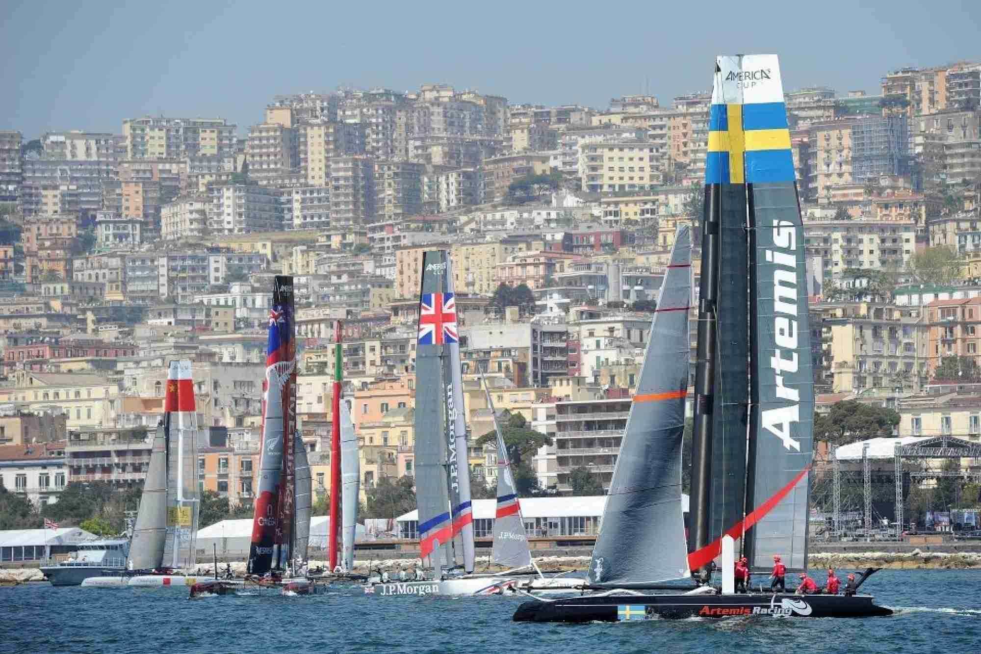 Official Supplier to Artemis Racing