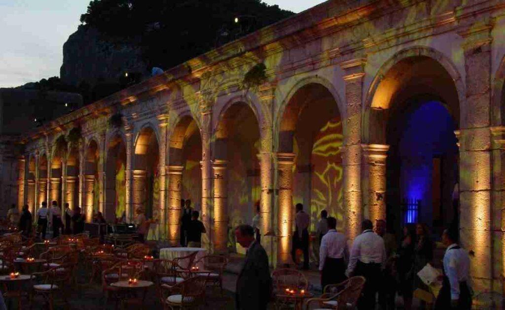 Unicredit-Capitalia nella Certosa di Capri