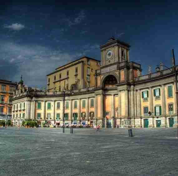 Piazza Dante a Napoli location eventi