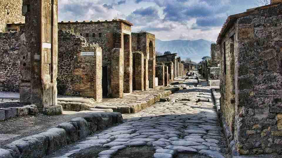 Ercolano antica scavi archeologici