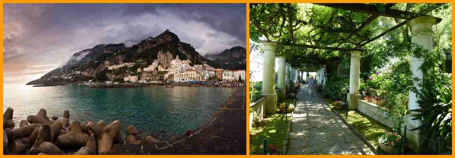 Amalfi e Villa Rufolo Ravello